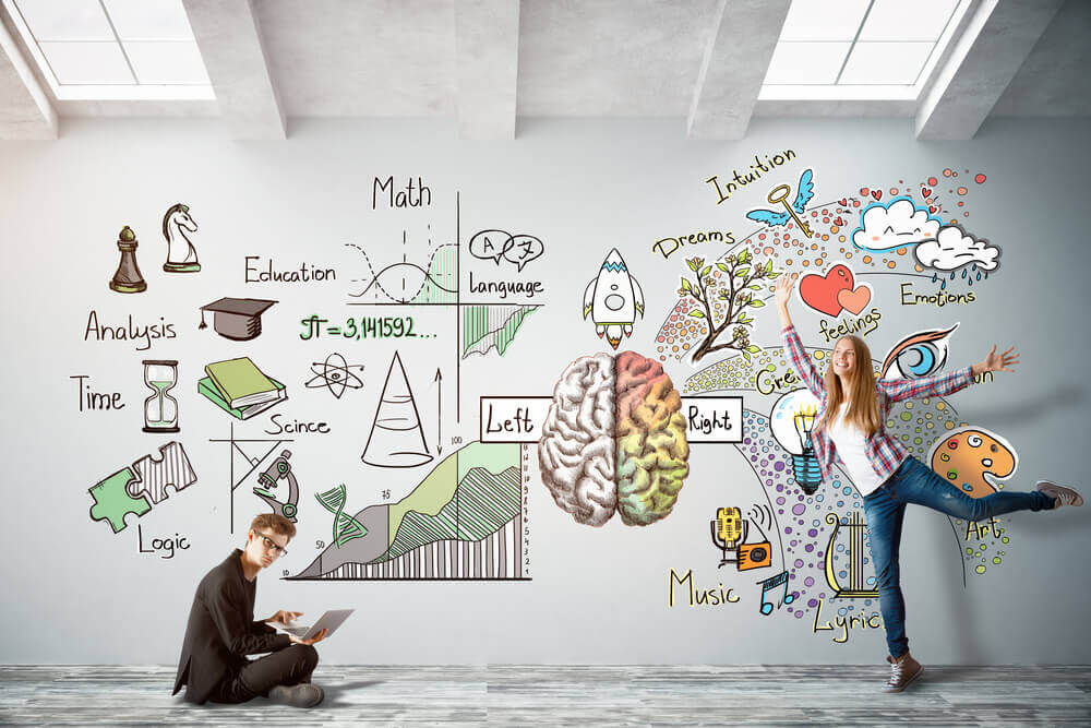 左脳と右脳をバランスよく使って、人前で話す事が得意になる方法